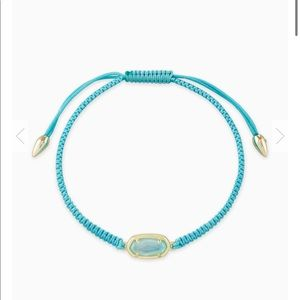 New Kendra scott Grayson Aqua Friendship Bracelet